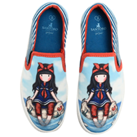 Slip-on - 32-es - Gorjuss - Little Fishes
