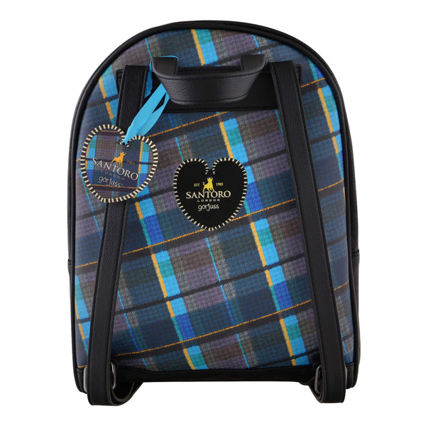 Hátizsák - Gorjuss Tartan - Ruby Yellow