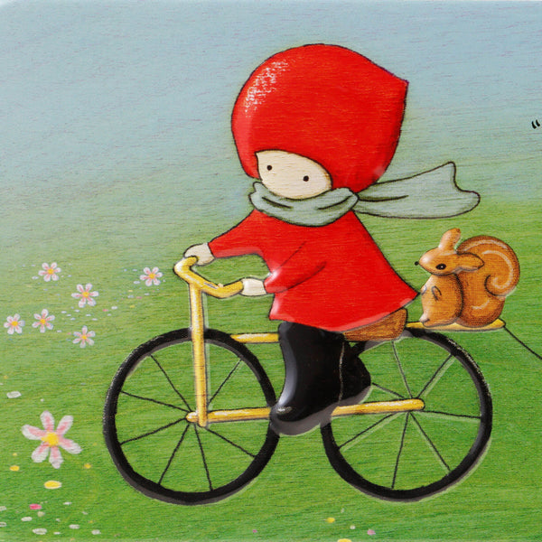 Fém tolltartó - Poppi Loves - Cycling