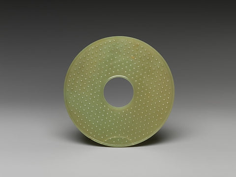 Eastern Zhou–Western Han dynasty (770 B.C.–A.D. 9) Bi Disc at the MET Museum