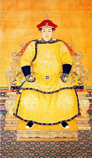 Emperor Shunzhi, third emperor of the Qing dynasty