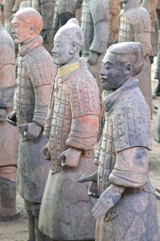 Han purple terracotta warriors
