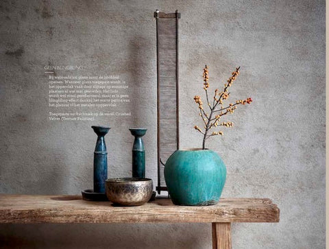 seres collection wabi sabi interior decoration