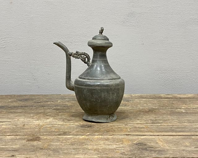 Antique Chinese soy sauce pourer - Country Chic Kitchen
