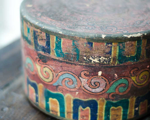 Round tibetan box - SERES Collection  - 1