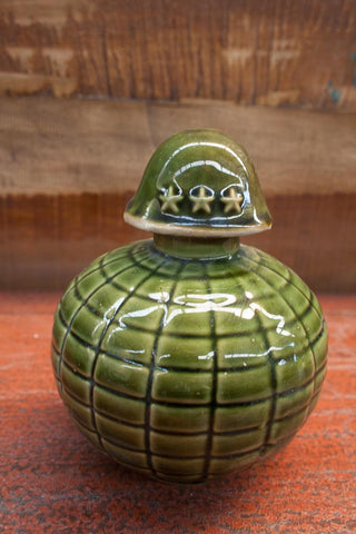 Decorative military pot - SERES Collection