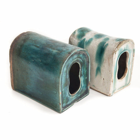 Glazed earthenware opium pillows - SERES Collection  - 1