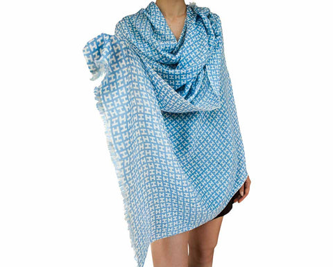 100% Cashmere Shawl - SERES Collection