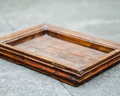 Small brown tray - SERES Collection  - 1