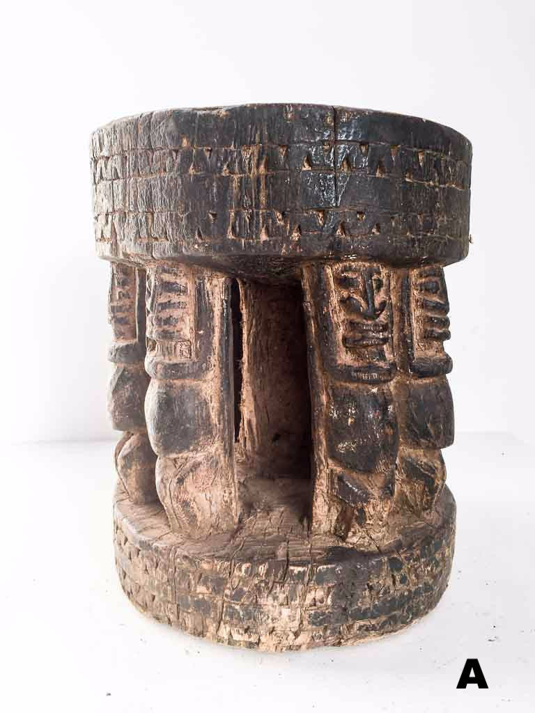Authentic Dogon stool - African tribal furniture