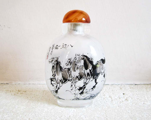 Inside painted glass snuff bottles - SERES Collection  - 1