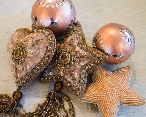 Christmas Decoration Set - Bronze - SERES Collection  - 1