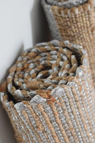 metallic jute rugs