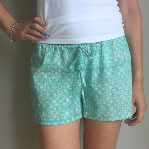 ethical cotton sleep shorts