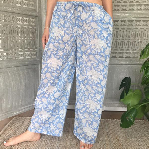 lightweight cotton pj bottoms