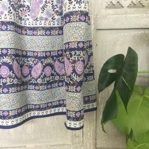 indian inspired maxi dress print