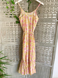 Yellow boho sun-dress - Dilli Grey