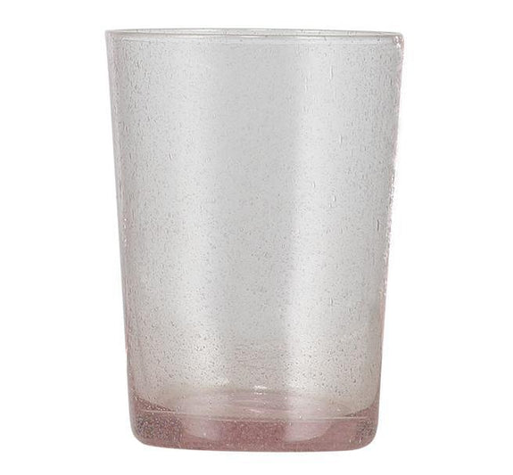 Old Rose Handmade Glass Tumbler Set of 2