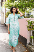 Talitha maxi dress in fresh mint - Dilli Grey