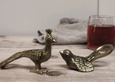 Brass bird bottle opener - Dilli Grey