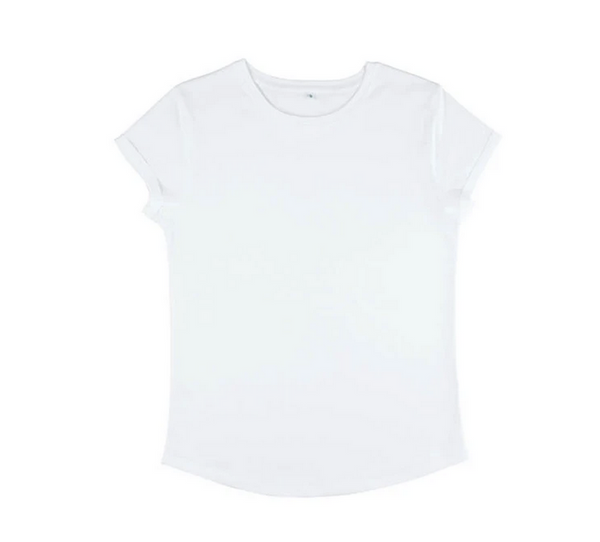Organic cotton t-shirt in white
