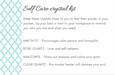 Self care crystal kit - Dilli Grey