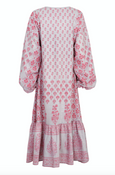 Ali midi dress in rosewater - Dilli Grey