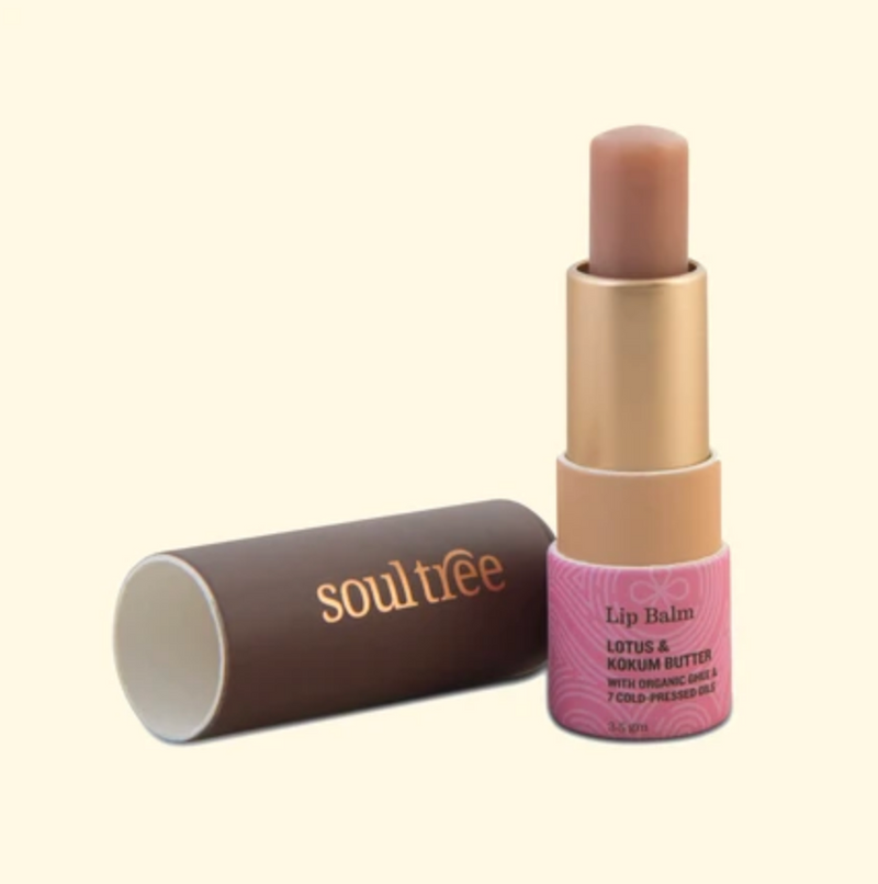 Lotus and Kokum Butter Lip Balm - Dilli Grey