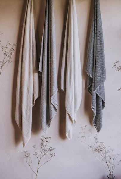 Cashmere and Merino Throws - Dilli Grey