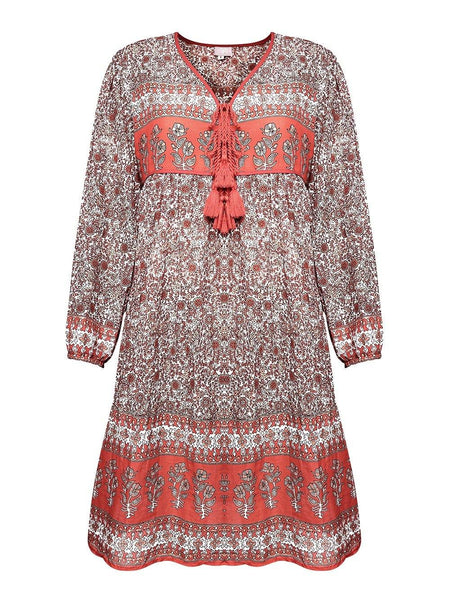 Boho tunic dress - Dilli Grey