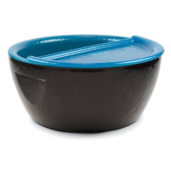 Blue Pedicure Bowl Footrest