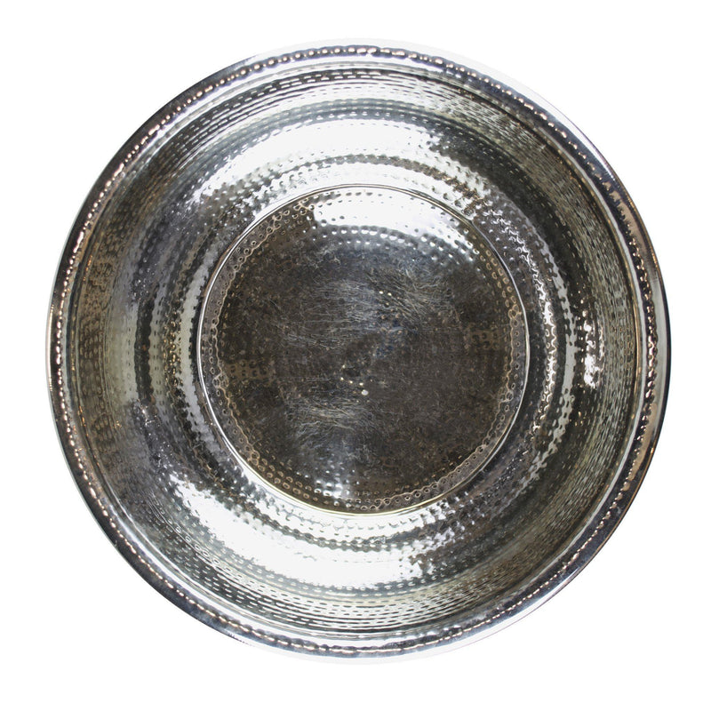 Hammered Stainless Steel Pedicure Bowl