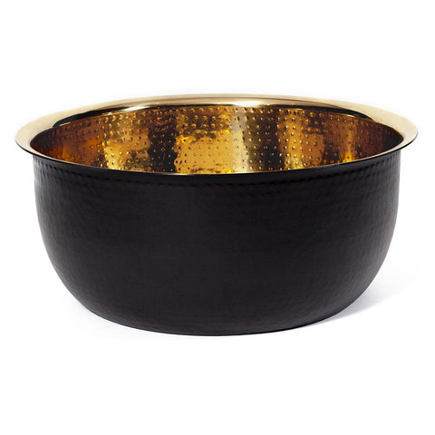 Pedicure Bowl - Hammered Copper