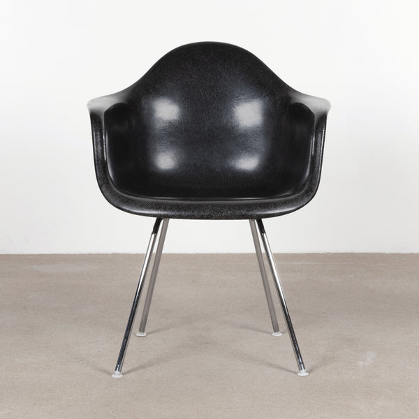 Charles and Ray Eames DAX Black Herman Miller