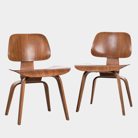 Charles & Ray Eames DCW Walnut 1952