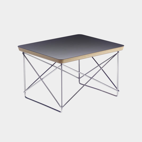 Charles & Ray Eames LTR Table black / chrome