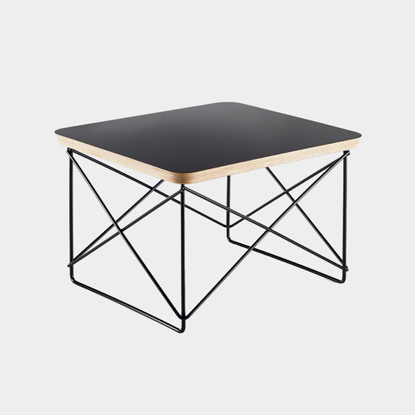 Charles & Ray Eames LTR Table black / black