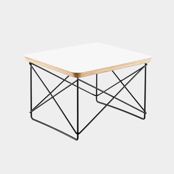 Charles & Ray Eames LTR Table white / black