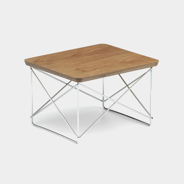 Charles & Ray Eames LTR Table cherry / chrome