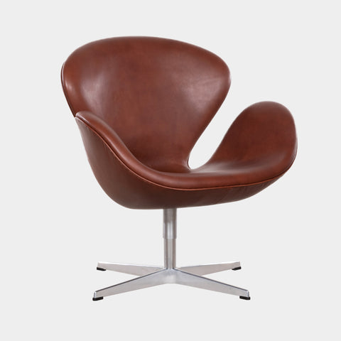 Arne Jacobsen Swan Chair (Model 3320) for Fritz Hansen
