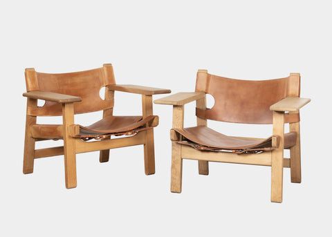 Børge Mogensen 'Spanish' Chair for Fredericia Furniture