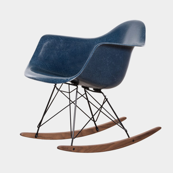 Charles and Ray Eames RAR Rocker Navy Blue