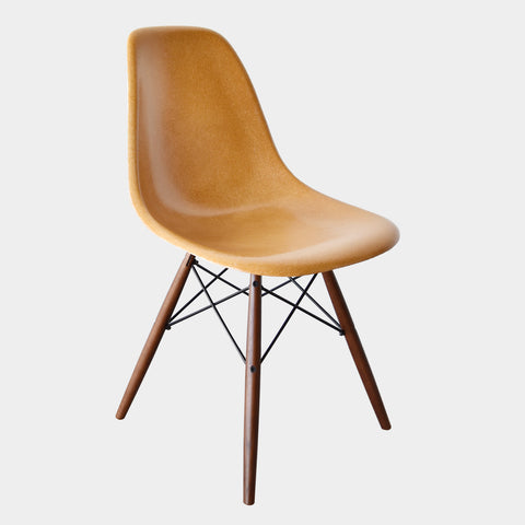 Charles and Ray Eames DSW Ochre Dark
