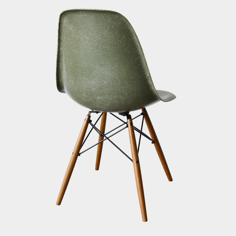 Charles and Ray Eames DSW Olive Green Dark