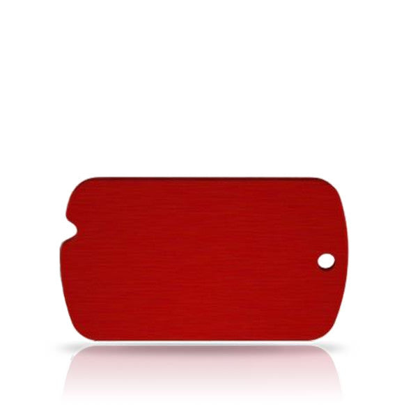 TaggIT Classic ID Tag Red Military Tag iMarc Tag