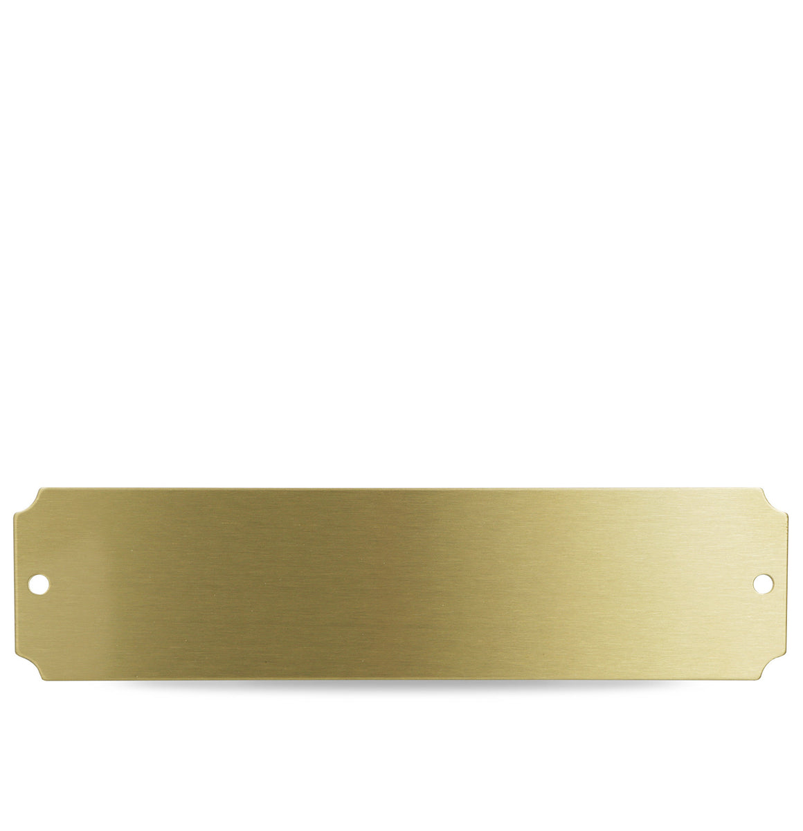 Brass Series Door Memorial Plate iMarc