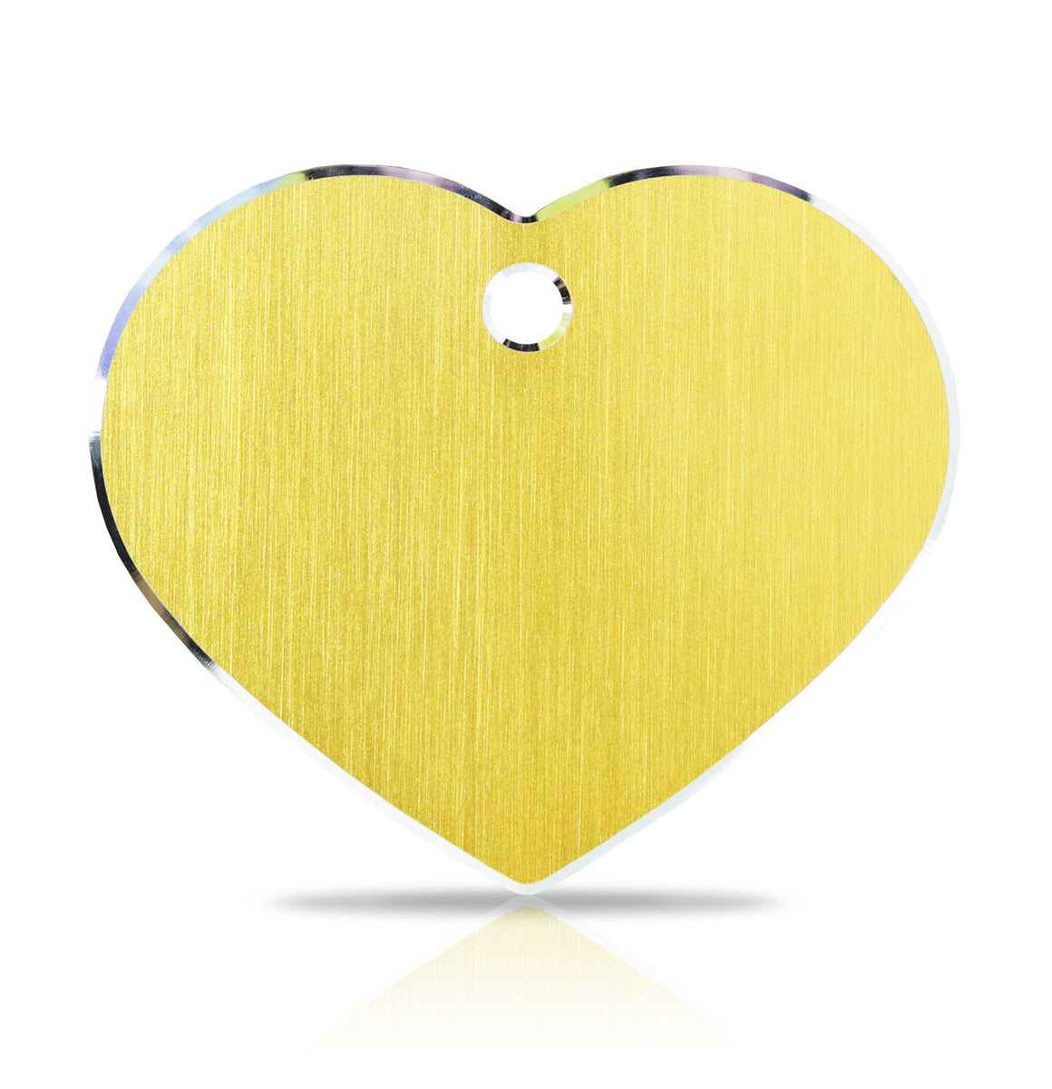TaggIT Hi-Line Large Heart iMarc Pet Engraving Tag