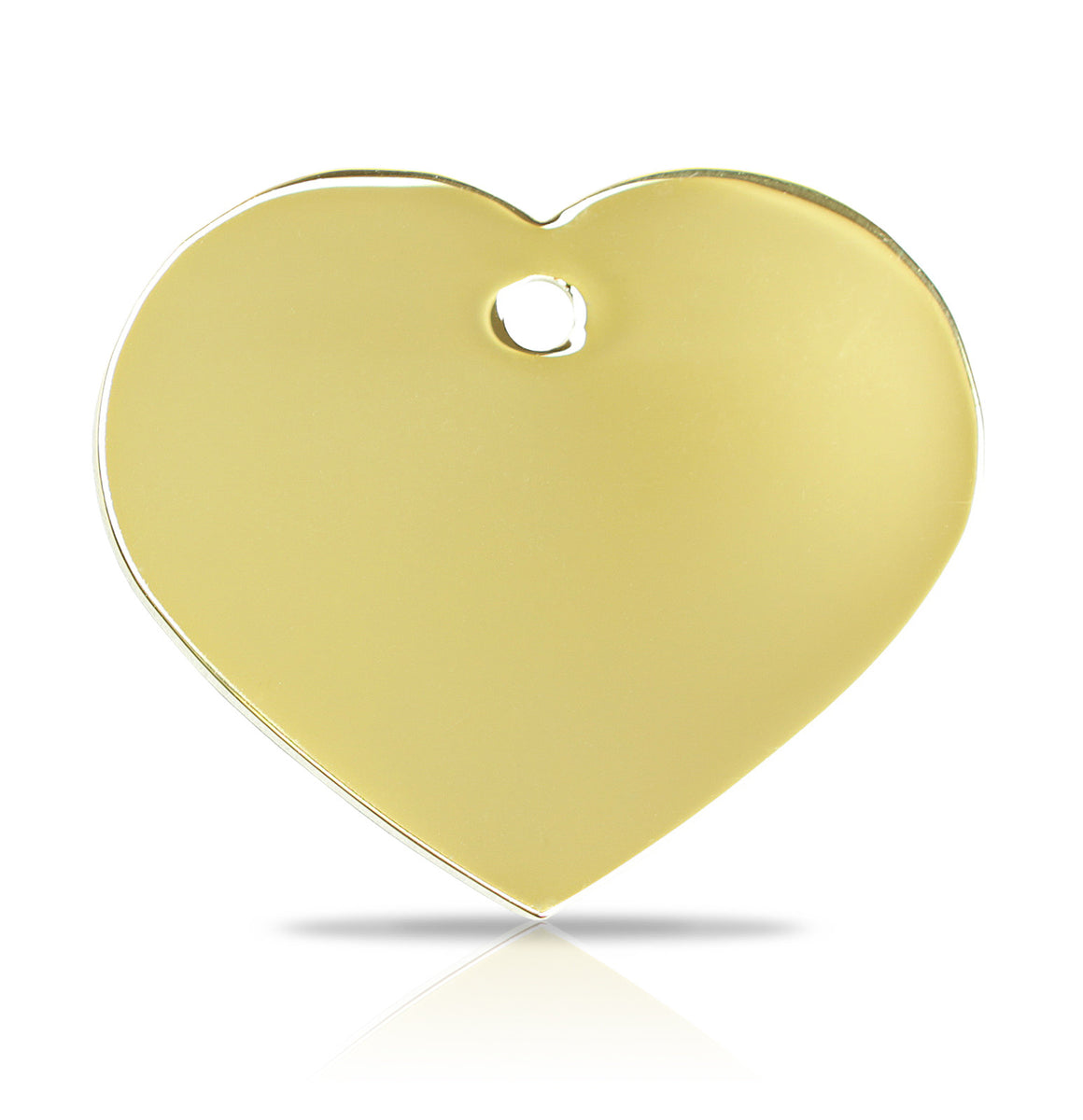 TaggIT Engraving Prestige Large Heart Gold iMarc Pet Tag