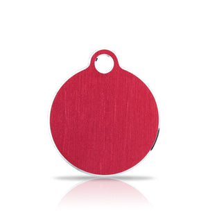 TaggIT Hi-Line Red Small Disc iMarc Pet ID Tag