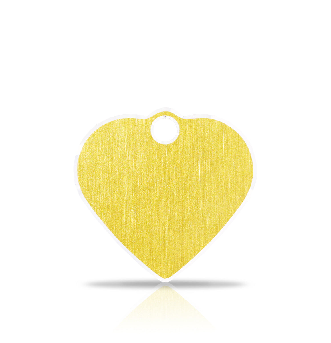 TaggIT Hi-Line Aluminium iMarc Small Heart Gold Pet Tag